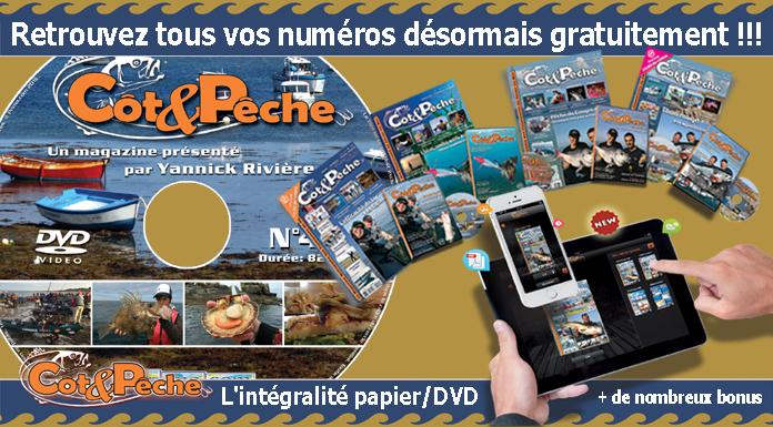 Magazine de pêche en mer