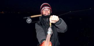 Pêche du calamar et de la seiche à la mouche
