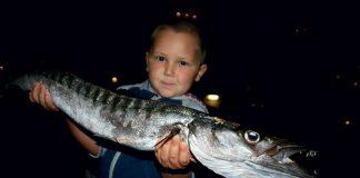 Pêche du barracuda en famille