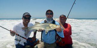 Pêche depuis le bord de mer