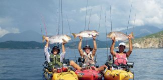 Pêche en kayal