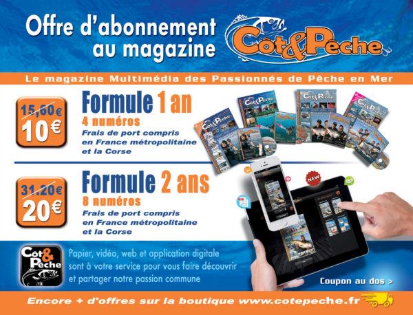 Abonnement au magazine Côt&Pêche