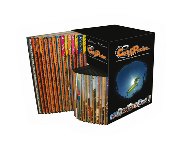 Coffret collector magazine Côt&Pêche