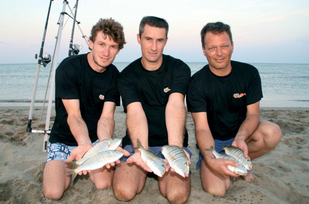 Pêche du marbré en surfcasting