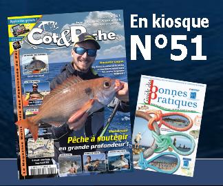 Magazine de pêche en mer Cot&Peche 51