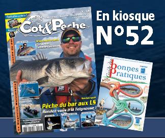 Magazine Côt&Pêche 52 en kiosque