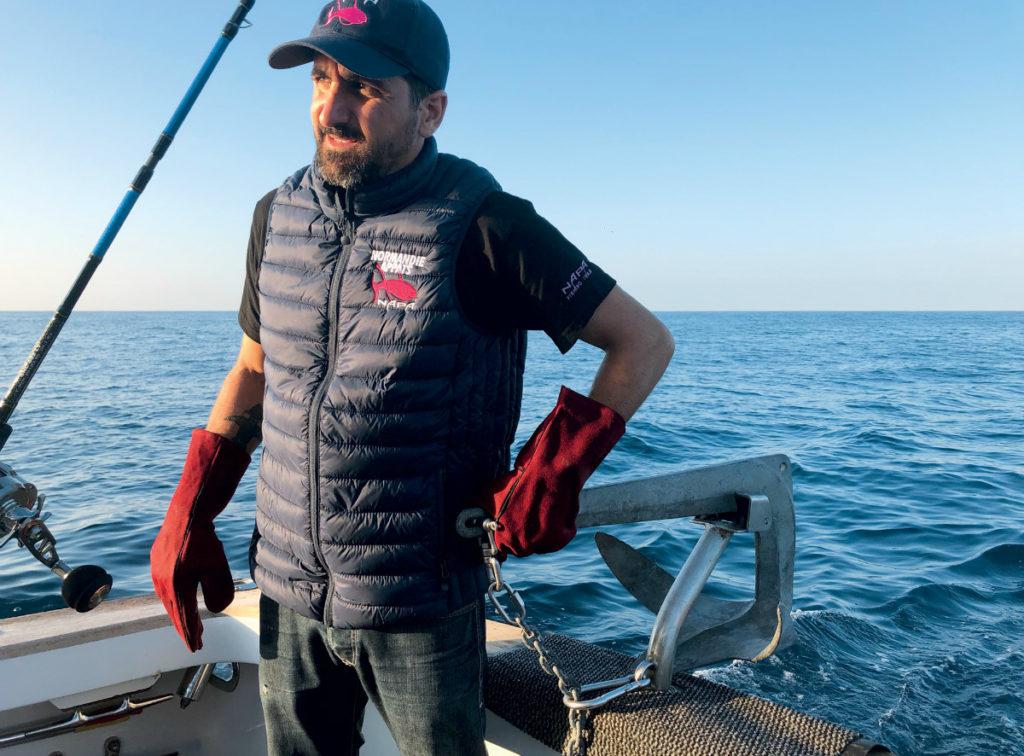 Pêche du pagre à soutenir en grande profondeur