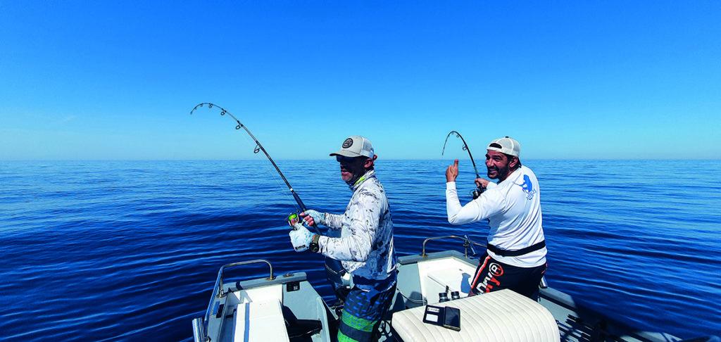 Pêche du thon sur les chasses