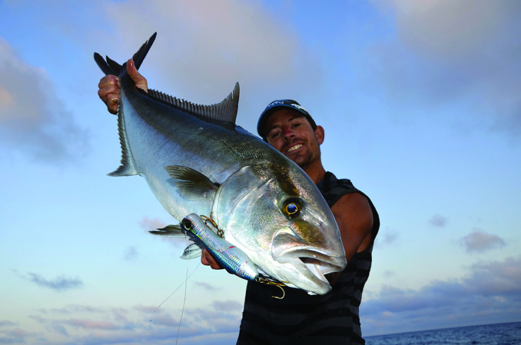 Pêche barracuda et sériole au popper
